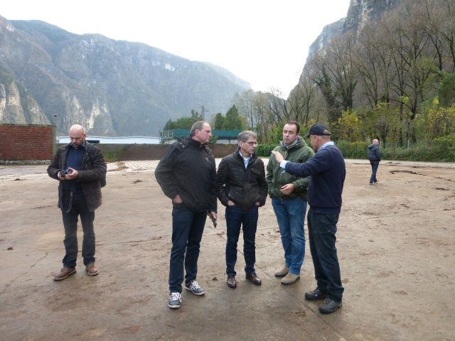Dohme Pilzzucht visits ITALSPAWN