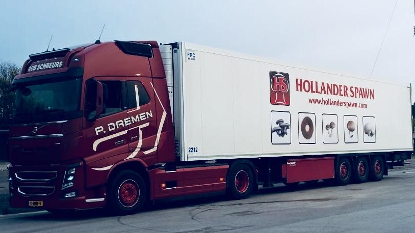 Partnership Hollander Spawn with P. Daemen Transport